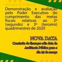 ADIADA PARA O DIA 25 DE MARÇO DE 2021, A AUDIÊNCIA PÚBLICA DA COMISSÃO DE FINANÇAS