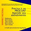 ATENDIMENTOS NO PROCON PREFERENCIALMENTE POR TELEFONE OU E-MAIL
