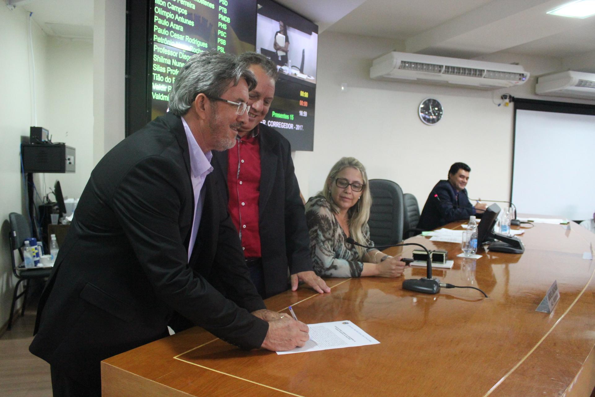 Eleito o Corregedor para o ano de 2017