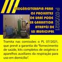 FORNECIMENTO DE OXIGÊNIO PARA OS PACIENTES DE UNAÍ PODE SER GARANTIDO ATRAVÉS DE LEI MUNICIPAL