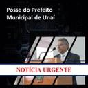 POSSE DO PREFEITO ELEITO ADIADA