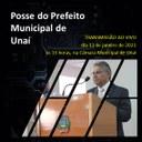 "PREFEITO DE UNAÍ TOMARÁ POSSE POR MEIO DE SISTEMA ""ON LINE"""