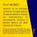 PROJETO PRETENDE GARANTIR O FORNECIMENTO DE MEDICAMENTOS PARA A POPULAÇÃO