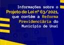 REFORMA PREVIDENCIÁRIA DO MUNICÍPIO DE UNAÍ